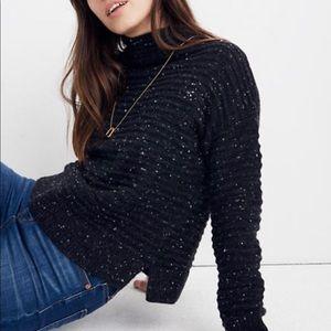 Madewell Donegal Belmont Mockneck Sweater